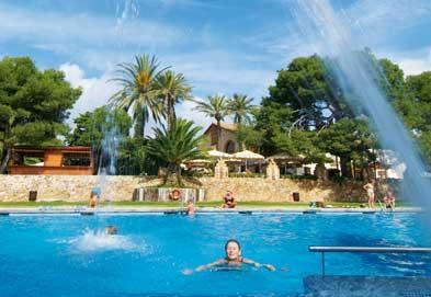 Camping Vilanova Park, Vilanova i la Geltru,Costa Dorada,Spain