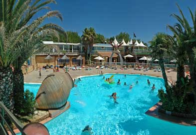 Yelloh! Village Club Farret Holiday Lodges in Languedoc Roussillon