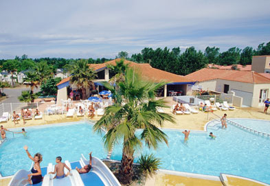 Les Sablines Holiday Lodges in Languedoc Roussillon