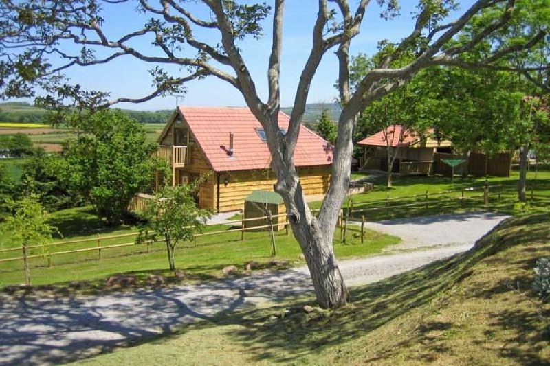 Hazel Lodge a british holiday cottage for 8 in ,