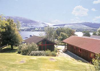 Lochearnhead Loch Side Holiday Lodges in Perth and Kinross
