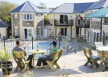 Porth Veor Holiday Lodges in Cornwall