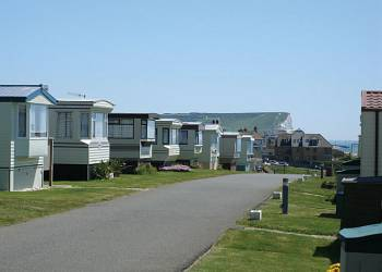 Sunnyside Caravan Park, Seaford,East Sussex,England