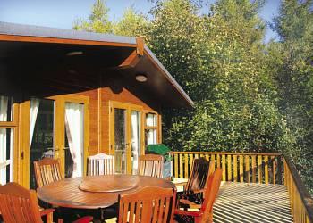 Longnor Wood Holiday Lodges in Derbyshire