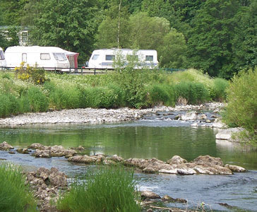 Riverside Caravan Park Holiday Lodges in Borders