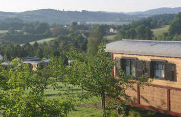 Les Roulottes des Monedieres Holiday Lodges in Aquitaine