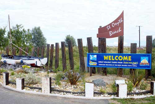 St. Osyth Beach Holiday Park, Clacton On Sea,Essex,England