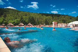 Les Ranchisses Campsite Holiday Lodges in Rhone Alpes