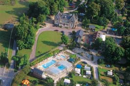 Chateau de Drancourt Holiday Lodges in Picardy