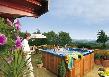 Belan Bach Lodges Holiday Lodges in Powys