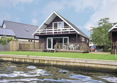 Watersedge Holiday Lodges in Norfolk