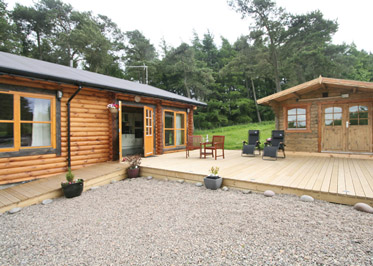 Duncrievie Log Cabins, Glenfarg,Perth and Kinross,Scotland