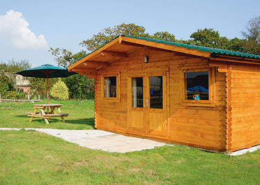 Adamsfield Woodpecker Holiday Lodges in Cornwall