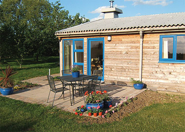 Oxfootstone Granary Holiday Lodges in Norfolk