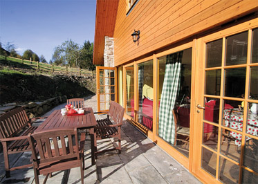 The Barn Holiday Lodges in Perth and Kinross