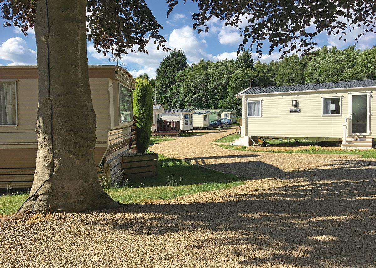 Bobby Shafto Caravan Park, Stanley,County Durham,England