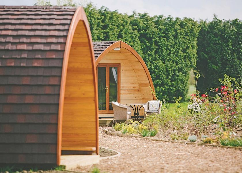 Manor Resort Pods, Laceby,Lincolnshire,England