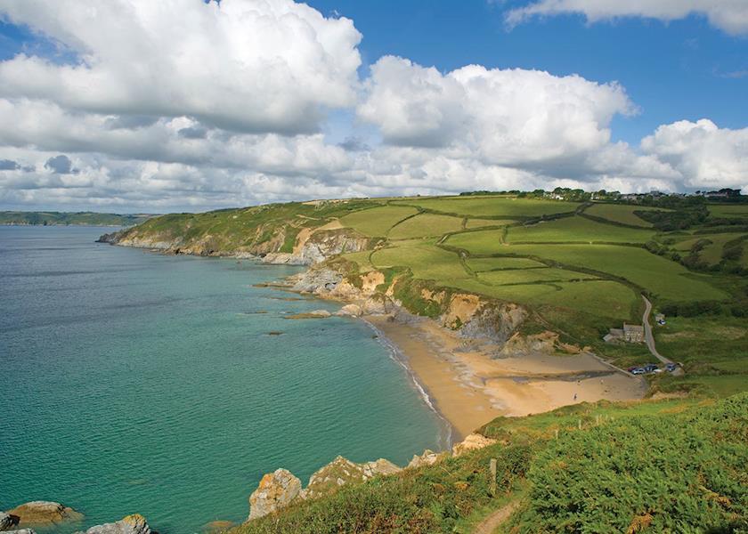 Seaview Gorran Haven, St Austell,Cornwall,England
