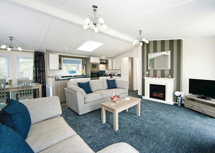Teviot View Lodges at Riverside, Hawick,Roxburghshire,Scotland