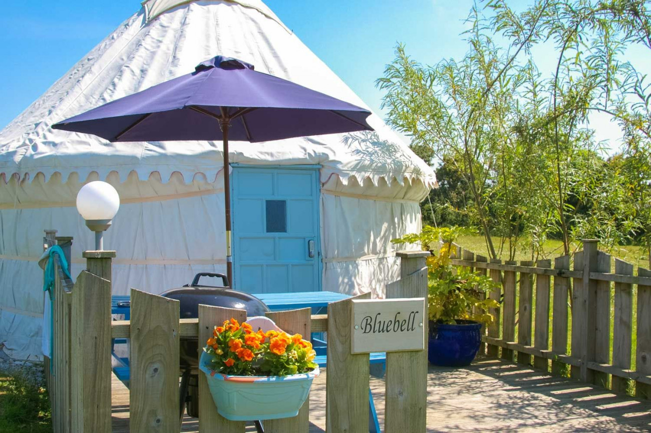Click here for more about Bluebell Yurt