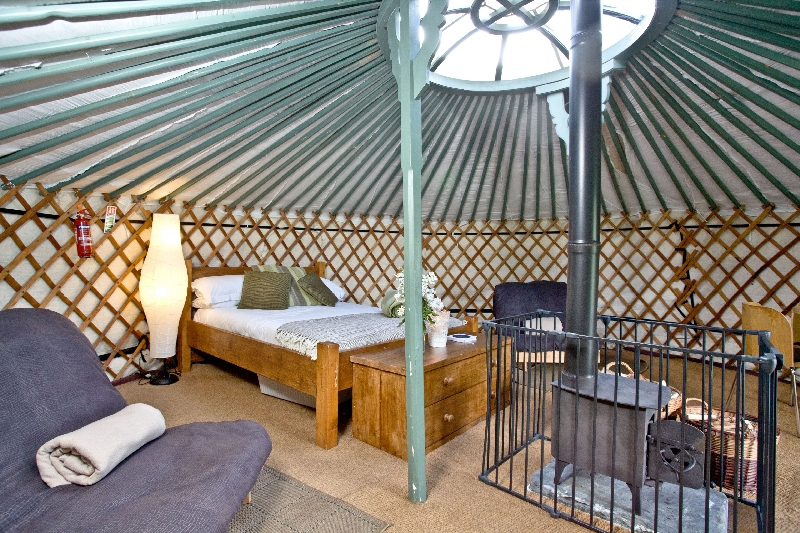 Yurt 4 - East Thorne Farm a british holiday cottage for 6 in ,