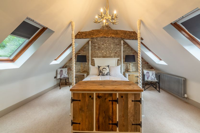 Hideaway Barn a british holiday cottage for 6 in ,