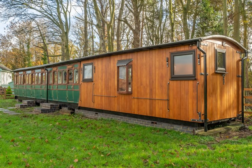 The Railway Carriage a british holiday cottage for 2 in ,