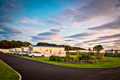 Golden Sands Holiday Park Holiday Lodges in Northumberland