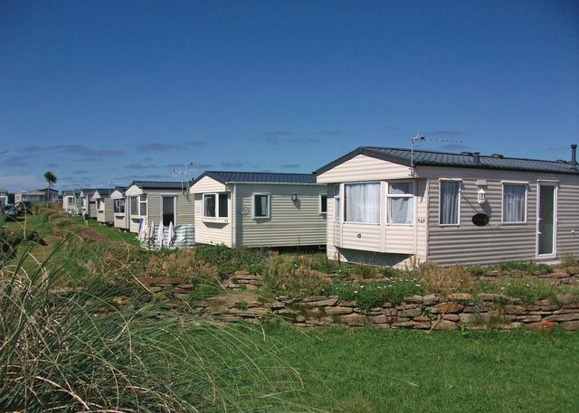 Harlyn Sands Holiday Park, Padstow,Cornwall,England