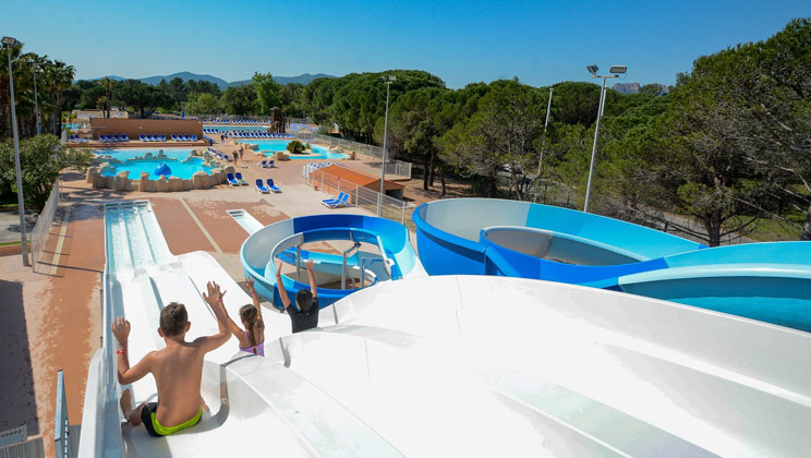 Parc St James Oasis Holiday Lodges in Provence Cote d