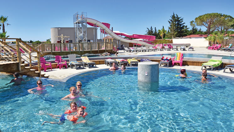 Le Mas des Lavandes Campsite Holiday Lodges in Languedoc Roussillon