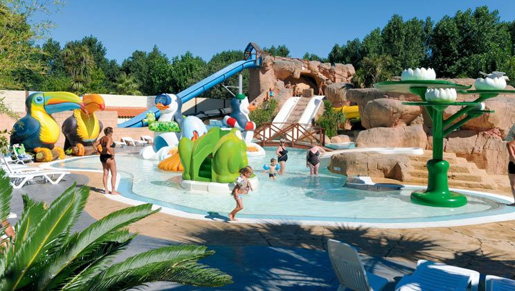 Le Front de Mer Campsite Holiday Lodges in Languedoc Roussillon