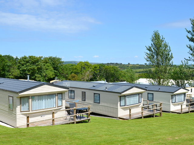 Carnmoggas Holiday Park Holiday Lodges in Cornwall