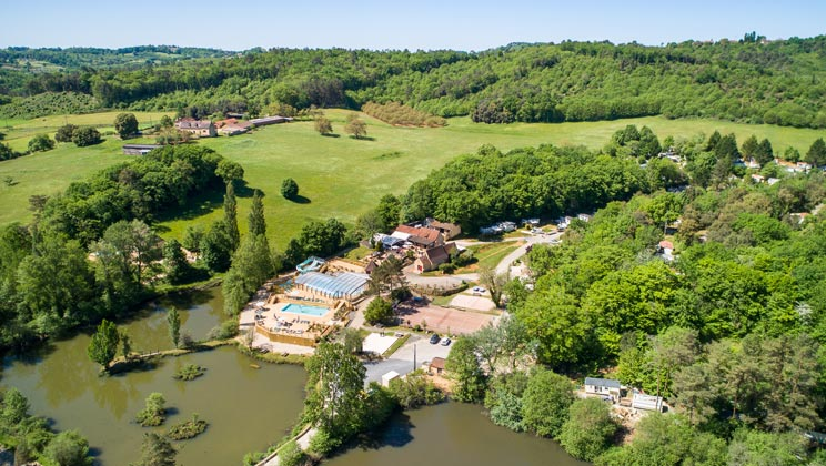 Le Val dUssel Campsite Holiday Lodges in Limousin