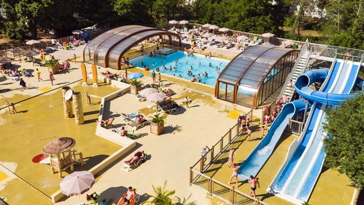 Le Soleil des Landes Campsite Holiday Lodges in Aquitaine