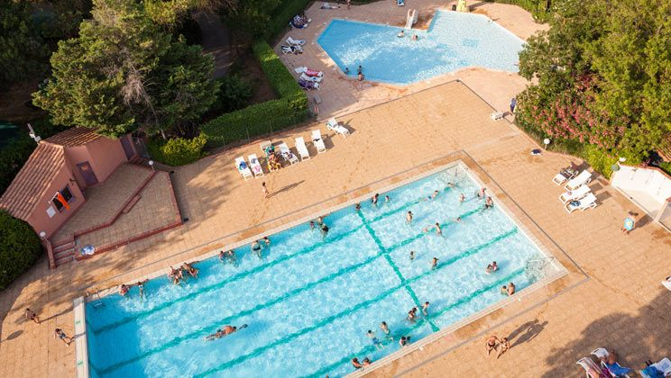 Marina Paradise Campsite Holiday Lodges in Languedoc Roussillon