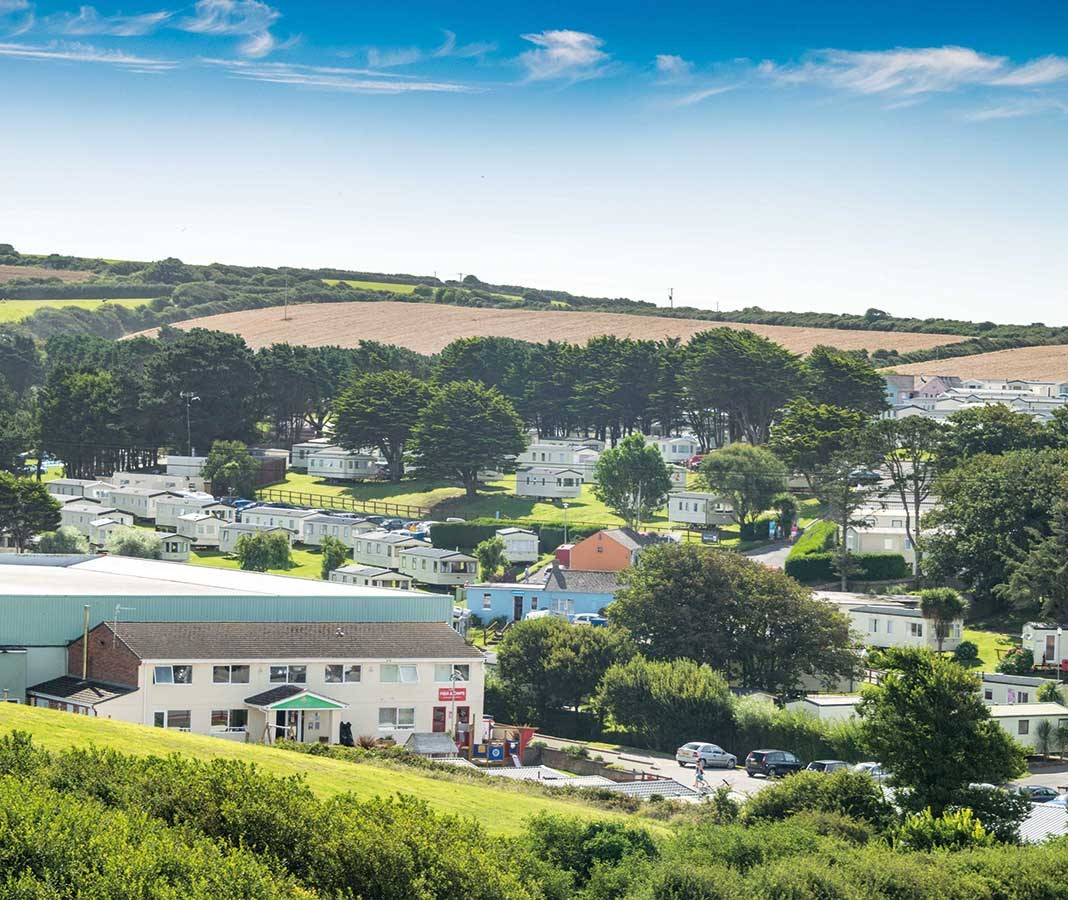 Newquay Bay Resort Holiday Lodges in Cornwall