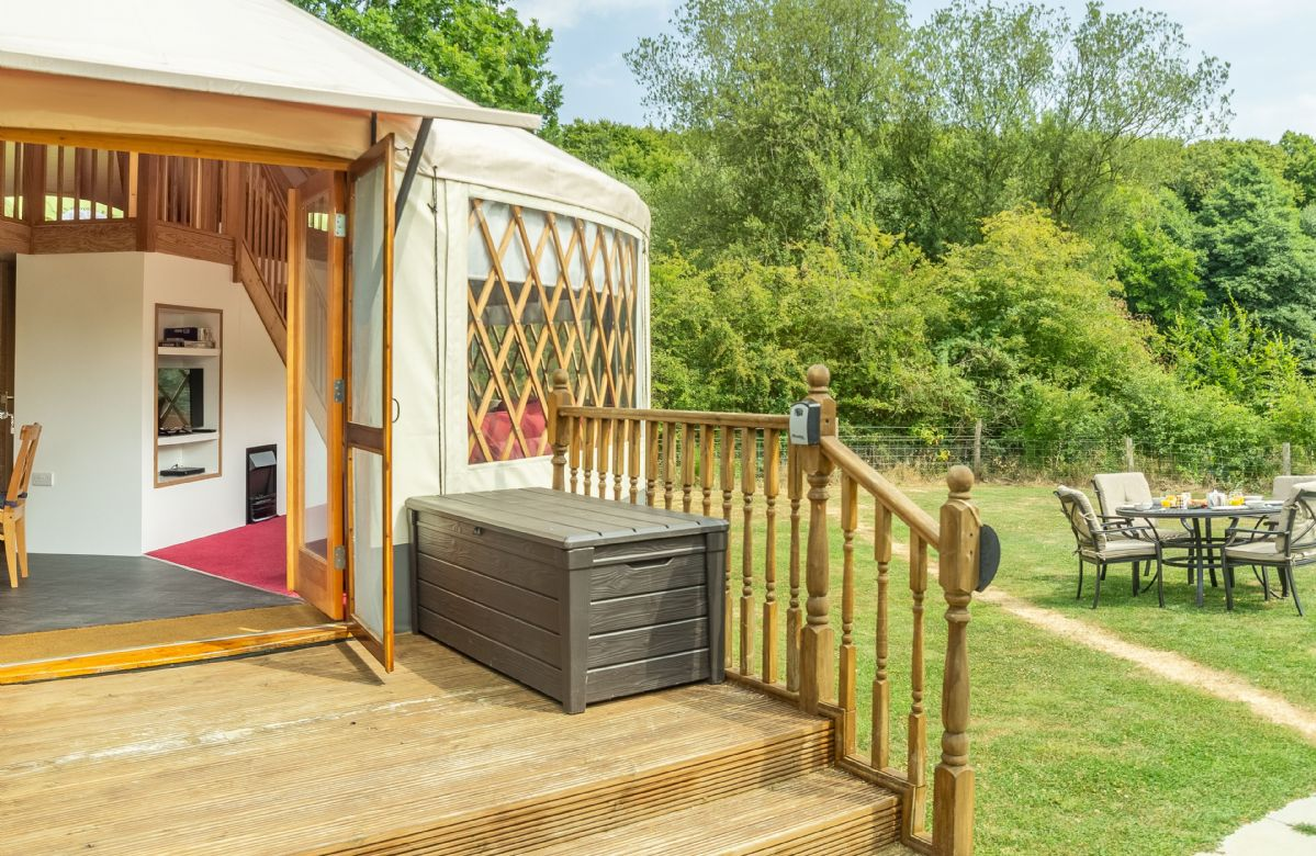 Ash Yurt a british holiday cottage for 5 in ,