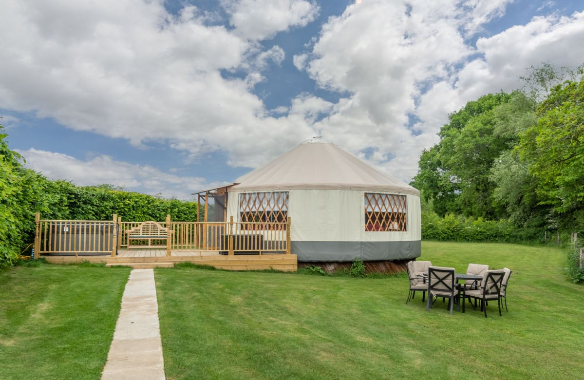 Willow Yurt a british holiday cottage for 5 in ,