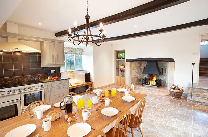 Oat Hill Farmhouse a british holiday cottage for 8 in ,