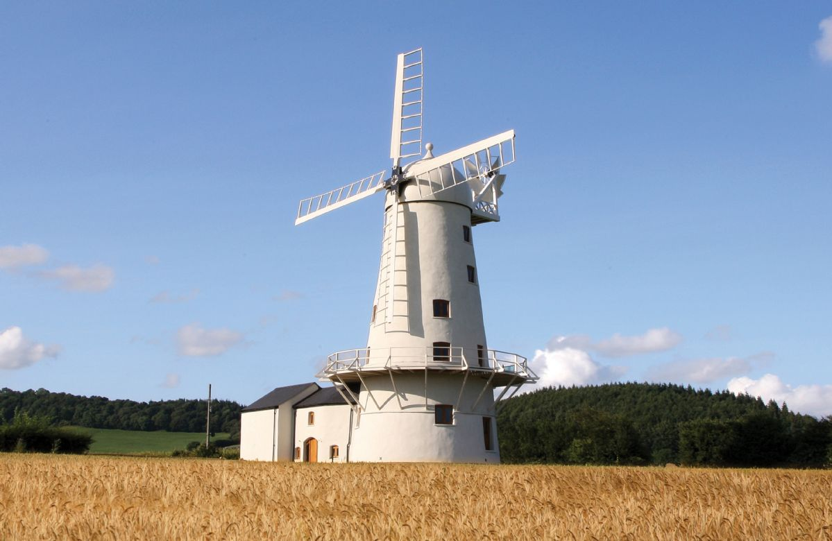 Llancayo Windmill a british holiday cottage for 12 in ,