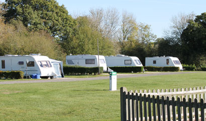 Sumners Pond Fishery and Campsite Holiday Lodges in West Sussex