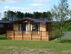 Flusco Wood Holiday Lodges in Cumbria