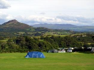 Mynydd Du Caravan Park Holiday Lodges in Gwynedd
