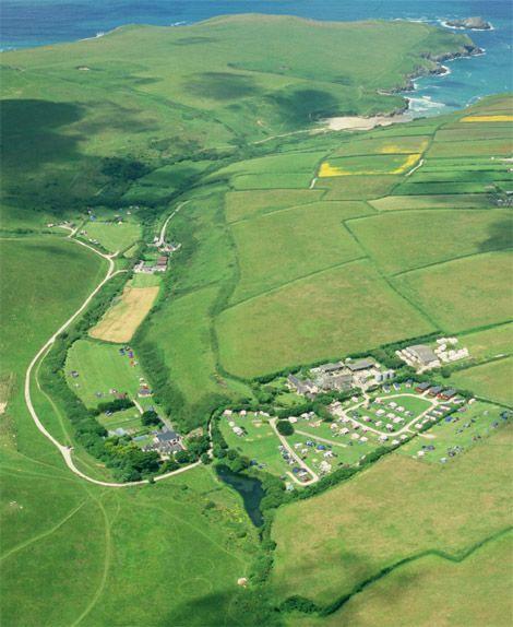 Treago Farm Caravan Park Holiday Lodges in Cornwall