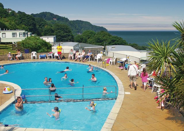 Sandaway Beach Holiday Park Holiday Lodges in Devon
