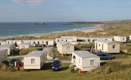 St. Ives Bay Holiday Park Holiday Lodges in Cornwall