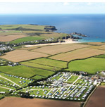 Carnevas Farm Holiday Park Holiday Lodges in Cornwall
