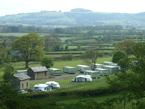 The Old Station Caravan Park Holiday Lodges in Powys