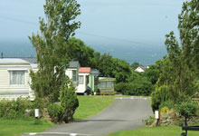 Ocean Heights Leisure Park, New Quay,Ceredigion,Wales